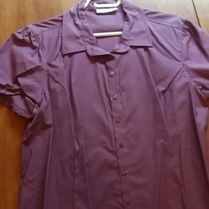 Dusky Purple Blouse